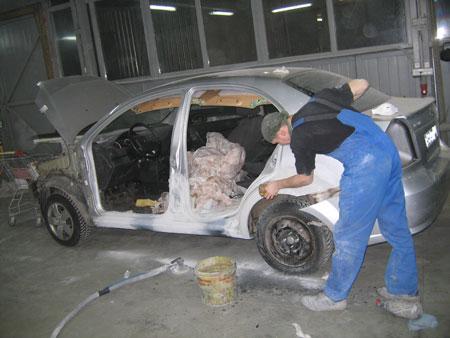 кузовной ремонт chevrolet aveo фото